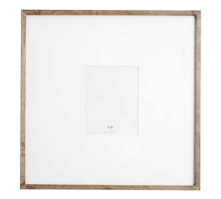 "WOOD GALLERY OVERSIZED MAT FRAMES - 8"" x 10"" - Pottery Barn"