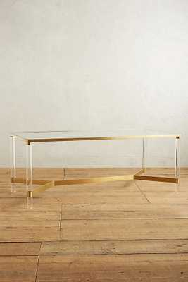 Oscarine Lucite Dining Table - Anthropologie