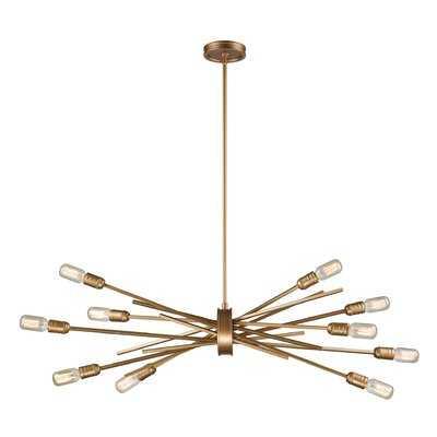 Byler 10-Light Sputnik Chandelier - Wayfair