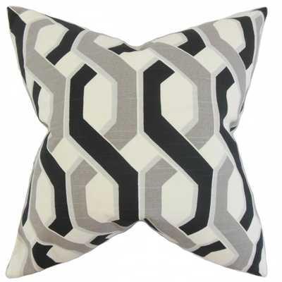 Chauncey Geometric Pillow - 18x18 - With insert - Linen & Seam