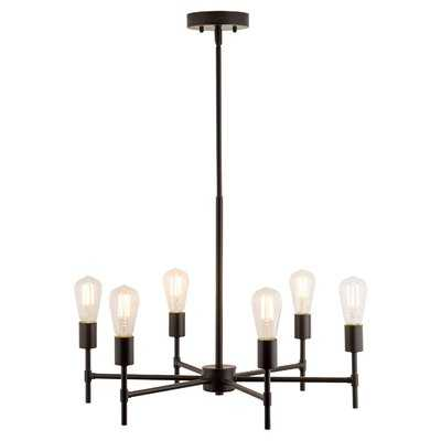 Sherri 6-Light LED Candle-Style Chandelier - Wayfair