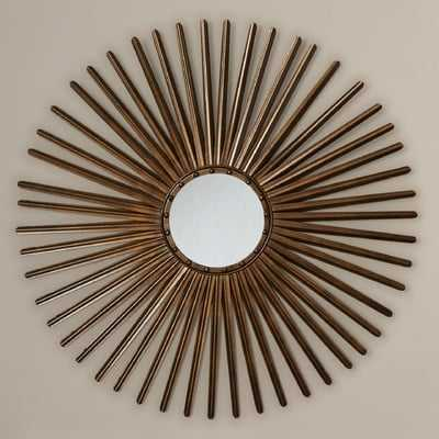 Contemporary Wall Mirror - Wayfair