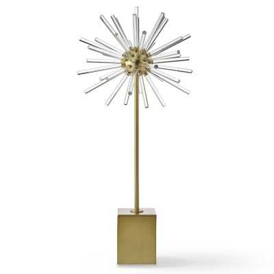 Acrylic and Metal Starburst Object, Large - Williams Sonoma