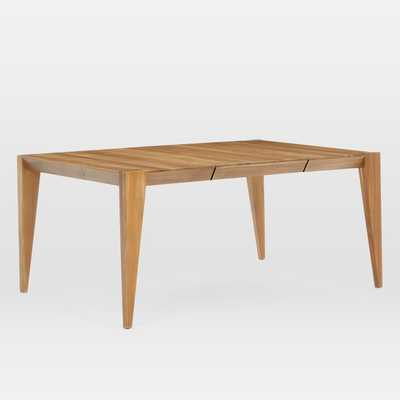 Anderson Solid Wood Expandable Dining Table - Raw Acacia - West Elm