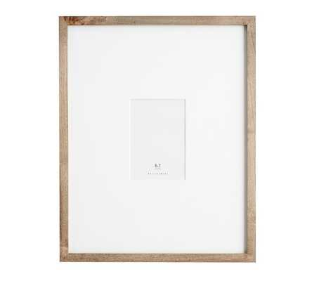 "WOOD GALLERY OVERSIZED MAT FRAMES - 5"" x 7"" - Pottery Barn"