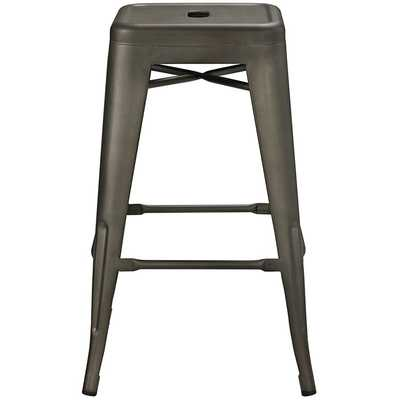 PROMENADE COUNTER STOOL IN BROWN - Modway Furniture