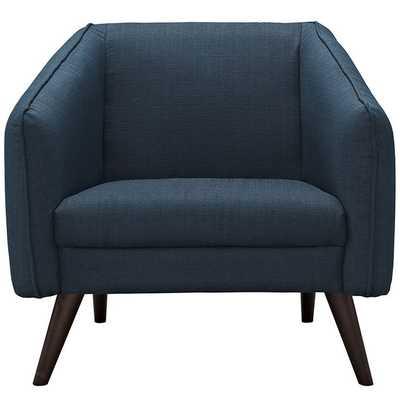 SLIDE ARMCHAIR IN AZURE - Modway Furniture