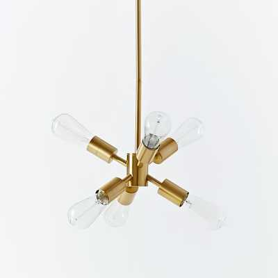 Mobile Chandelier - Small - antique brass - West Elm
