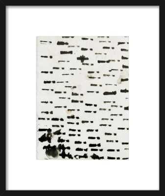 Wabi sabi 16-01 - 16x19 - Blackl Wood Frame with Mat - Artfully Walls