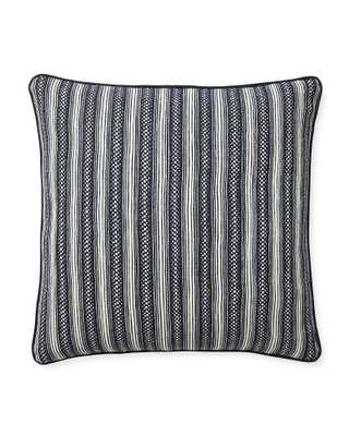 Stowe Pillow Cover- Navy - Serena and Lily