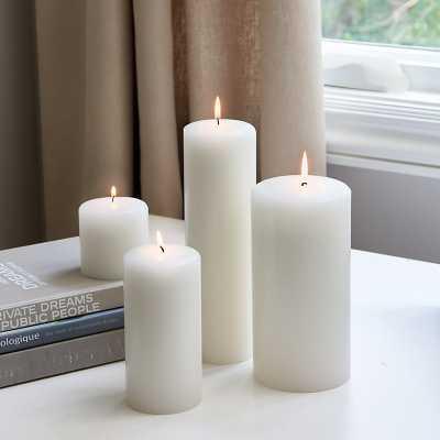 "Ballard Designs Essential Candle - Pillar  6"" x 3"" - Ballard Designs"