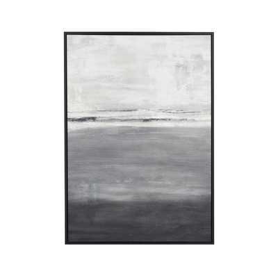 Gray Horizon Print RESTOCK IN LATE APRIL 2021 - Crate and Barrel