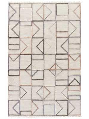 Alrik rug, neutral - Lulu and Georgia