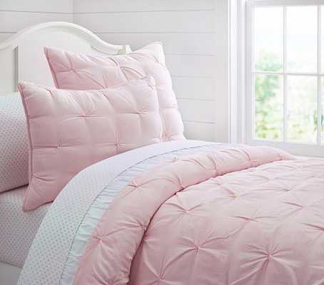 Audrey Quilt, Twin, Pink - Pottery Barn Kids