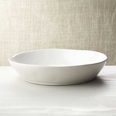 Marin White Centerpiece Bowl - Crate and Barrel