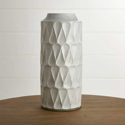 Kora Tall Vase - Crate and Barrel