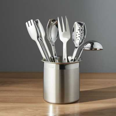 All-Clad ® 6-Piece Cooking/Serving Tool Set - Crate and Barrel