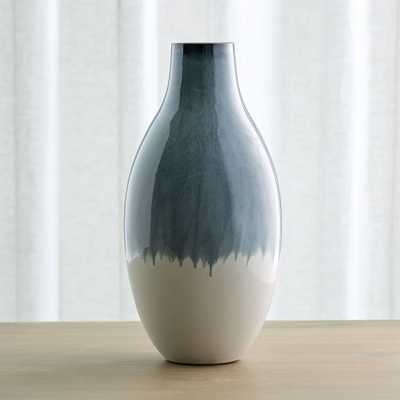 Cascade Large Ombre Vase - Crate and Barrel