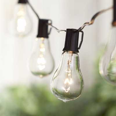 Vintage Edison Bulb Outdoor String Lights - Crate and Barrel