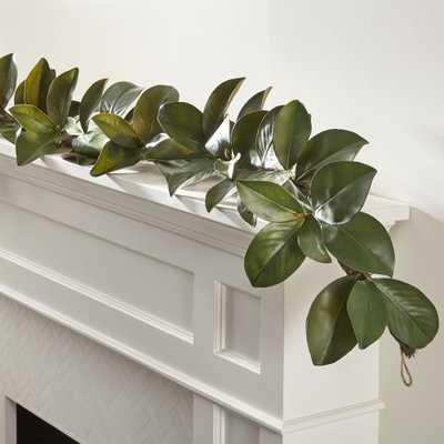Magnolia Garland - Crate and Barrel