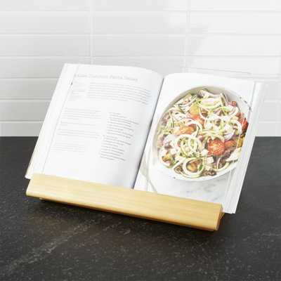 Cookbook Stand - Crate and Barrel