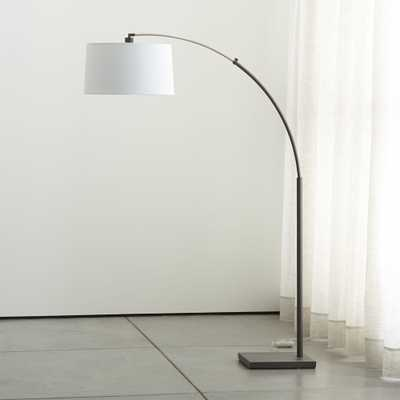 Dexter Arc Floor Lamp - Crate and Barrel