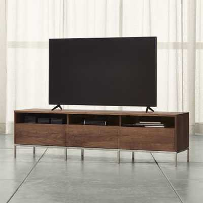 "Pearson 72"" Media Console - Crate and Barrel"
