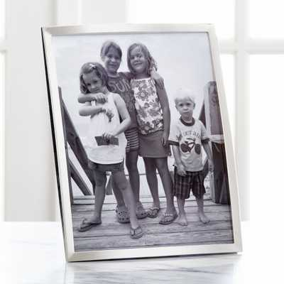 Eliza Silver 8x10 Picture Frame - Crate and Barrel