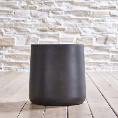 "Saabira Fiberstone 15.5"" Tall Planter - Crate and Barrel"