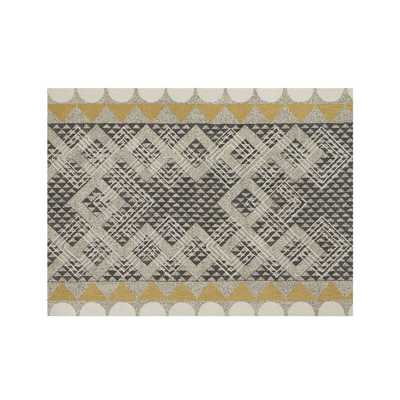 Thea Wool 9'x12' Rug - Crate and Barrel
