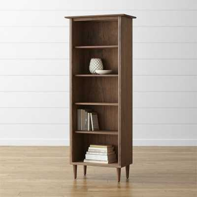 Kendall Walnut Bookcase - Crate and Barrel