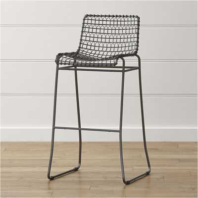 Tig Metal Bar Stool - Crate and Barrel
