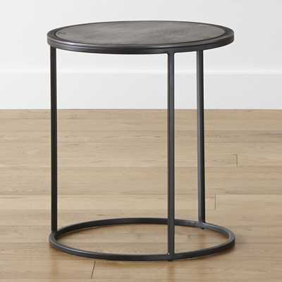 Knurl Small Accent Table - Crate and Barrel