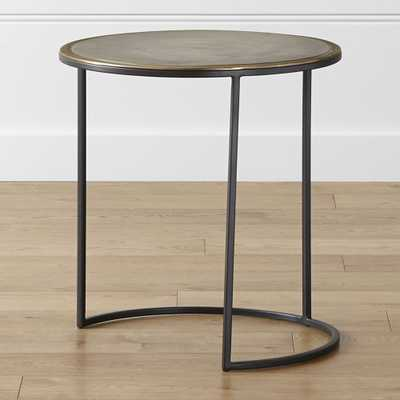 Knurl Large Accent Table - Crate and Barrel