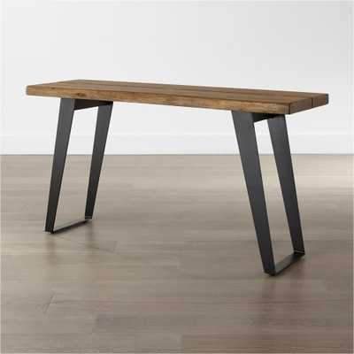 Yukon Natural Console Table - Crate and Barrel