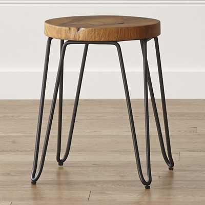 "Origin 18"" Stool - Crate and Barrel"