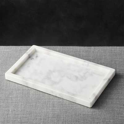 French Kitchen Marble Rectangle Tray - Crate and Barrel