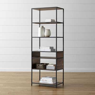 Knox Tall Open Bookcase - Crate and Barrel
