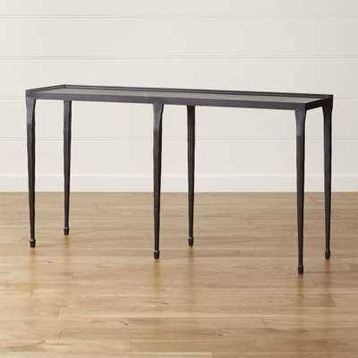 "Silviano 60"" Console Table - Crate and Barrel"