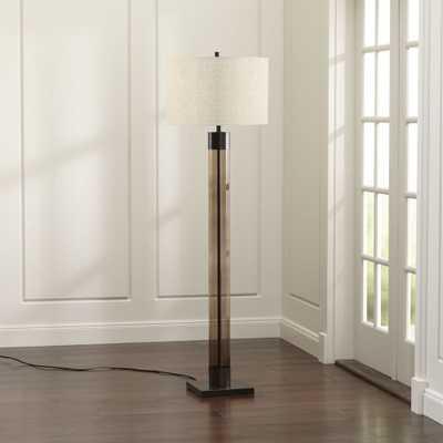 Avenue Bronze Floor Lamp - Crate and Barrel