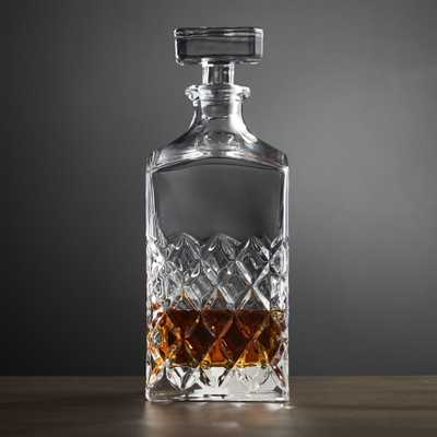 Hatch Decanter - Crate and Barrel