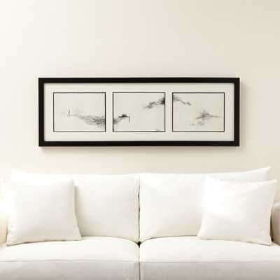 Intervals Triptych Print - Crate and Barrel