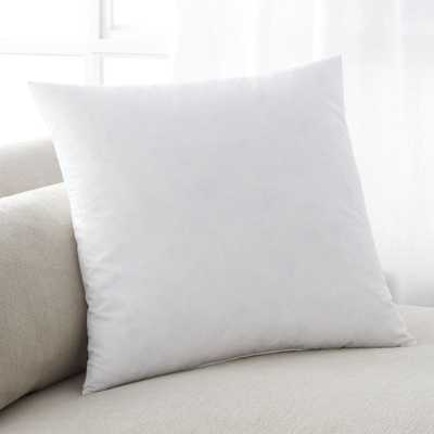 "Feather-Down 18"" Pillow Insert - Crate and Barrel"