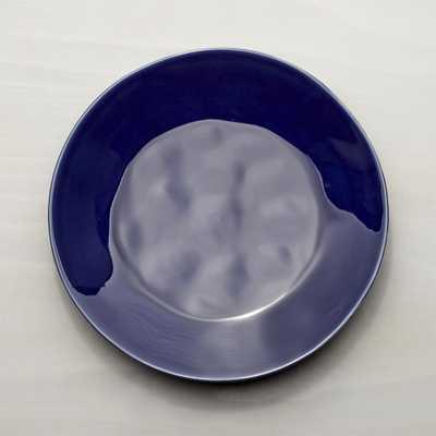 Marin Dark Blue Dinner Plate - Crate and Barrel