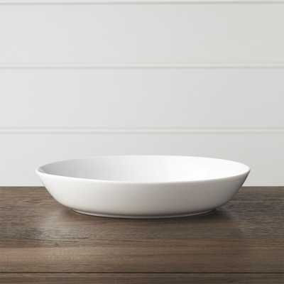 Hue White Low Bowl - Crate and Barrel