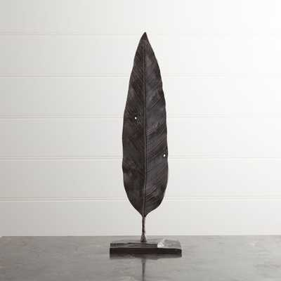 Mango Leaf On Stand - 18.5H - Crate and Barrel