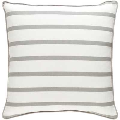 "Glyph Pillow, 18"" with Down Insert - Neva Home"
