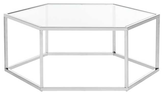 ELIANA GLASS COFFEE TABLE - Arlo Home