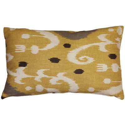 Chalmers Ikat Lumbar Pillow - Wayfair