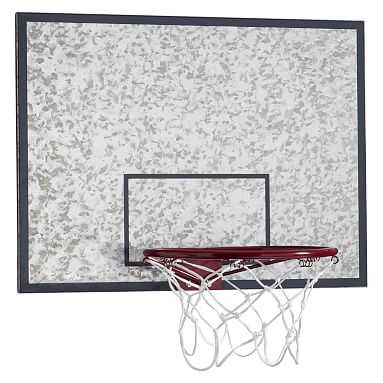 Galvanized Basketball Hoop And Dry-Erase Board - Pottery Barn Teen